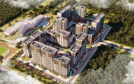 В Шымкенте стартовало резервирование квартир в новом ЖК Dendropark